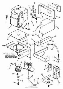 Snapper Hzs15420kve 42 U0026quot  15 Hp Ztr Yard Cruiser Series 0 Parts Diagram For Engine Components