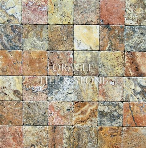 Oracle Tile And Ebay by 4 X 4 Scabos Travertine Tumbled Tiles Marble Tile Sale Ebay