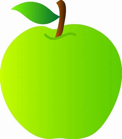 Apple Clip Clipart Drawing Vector Sweetclipart Smith