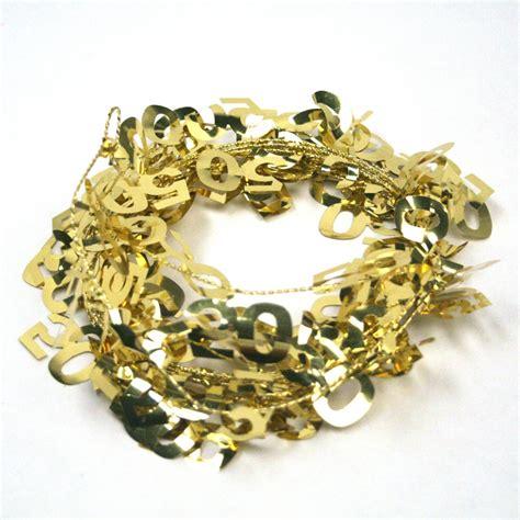 50 gold wire garland