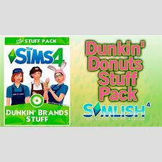Los Sims 4 Cc De Dunkin' Donuts  Dunkin' Brands Stuff