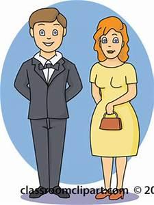 Family Clipart- family_husband-wife-12412 - Classroom Clipart