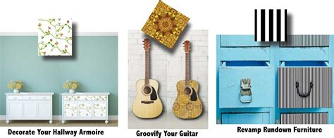 Decorating Ideas Leftover Wallpaper Border by Decorating Furniture And Other Objects With Diy Wallpaper