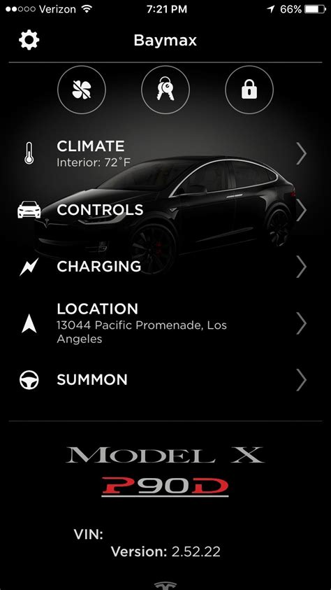 Tesla Car Apps by Tesla Refreshes Mobile App With Modern Ui Touch Id And
