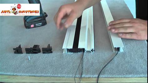 comment installer une moustiquaire porte pliss 233 de la marque antimoustiques fr