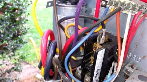 How Replace Contactor Youtube