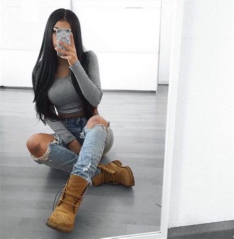 Best 25+ Cute timberland outfits ideas on Pinterest