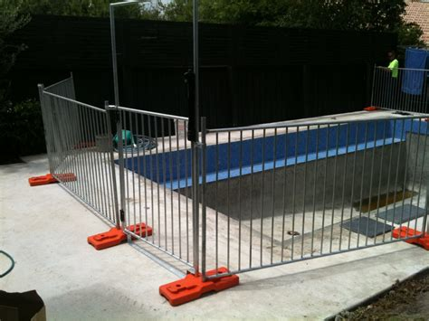 Hot Dipped Galvanized Temporary Pool Fencing / Swimming