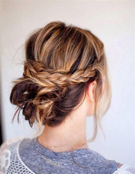 Coiffures Faciles Simples et Rapides Pour Cheveux Mi-longs | Coiffure simple et facile