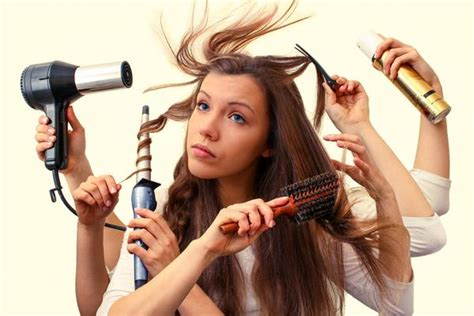 tips for styling hair frizzy hair tips for humid summer days po co