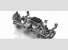 ZF's New Modular Rear Axle Has Steering and Electric Drive