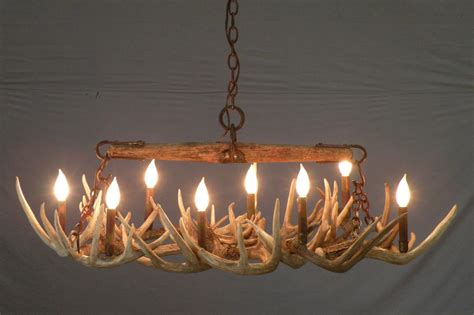 deer antler chandelier diy light fixtures design ideas