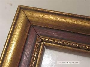 Bilderrahmen Antik Holz : bilderrahmen alt antik holz mit goldauflage ~ Buech-reservation.com Haus und Dekorationen