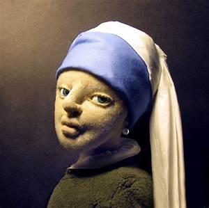 Das Mädchen Mit Dem Perlenohrring Gemälde : m dchen mit perlenohrring jan vermeer puppe frau jan vermeer figural von katharina zeitz ~ Watch28wear.com Haus und Dekorationen
