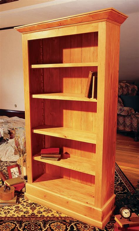 cottage bookcase bookcase plans easy woodworking