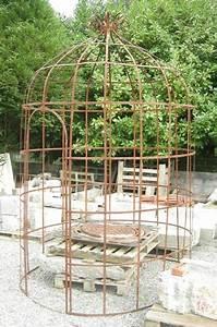 Gloriette En Fer Forgé : gloriette ancienne tonnelle ancienne en fer forg marquise ~ Premium-room.com Idées de Décoration