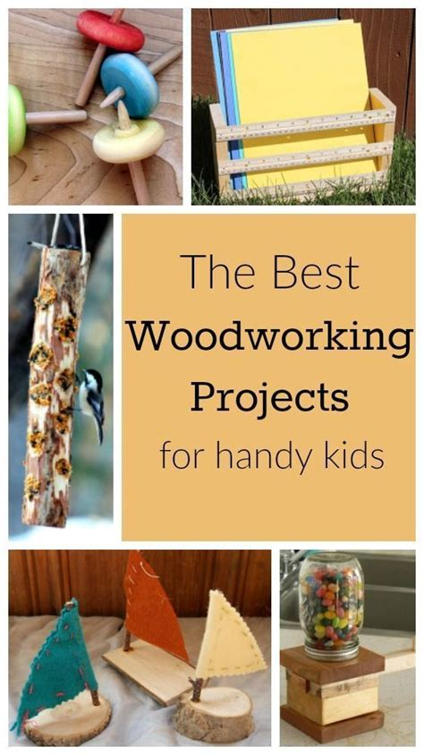 incredible woodworking projects  handy kids