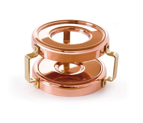 copper heater  candle mauviel