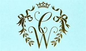 how to design a wedding monogram designmantic the With initial logo maker