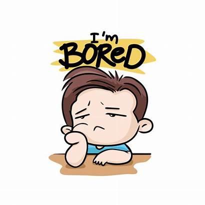 Bored Aburrido Boredom Cartoon Face Aburrimiento Gratis
