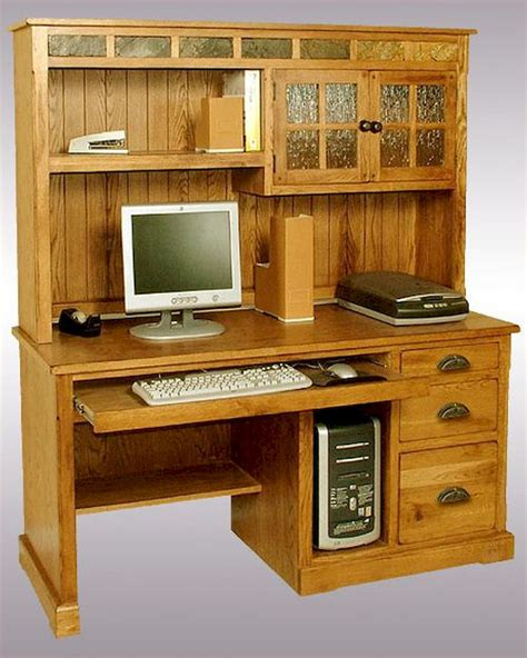 desk and hutch designs computer desk hutch sedona su 2863ro h d