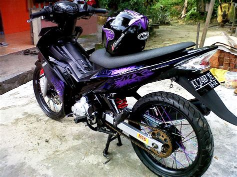 Modifikasi Jupiter Z 2008 by Foto Modifikasi Motor Jupiter Z 2008 Onvacations Image