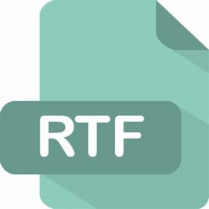 rtf free icons download With document rtf download