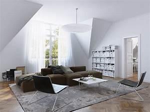 Wohnzimmer Mit Brauner Couch : 20 elegant living room design ideas moouhuiss white show brown sofa clipgoo ~ Markanthonyermac.com Haus und Dekorationen