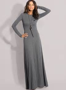 long sleeve maxi dress dresses simple and practical