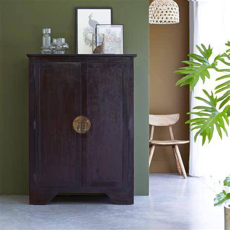 bahut en acajou achat meuble de rangement style asiatique