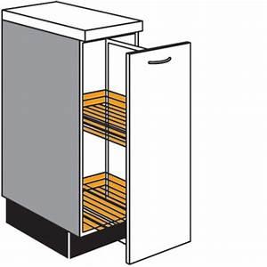 Küchenschrank 35 Cm Breit : apotheker unterschrank mit 1 auszug und 2 k rben ~ Bigdaddyawards.com Haus und Dekorationen