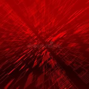 Red matrix background stock illustration. Illustration of ...