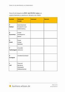 Kapitalbedarf Berechnen : raster f r die identifikation von stakeholdern vorlage business ~ Themetempest.com Abrechnung