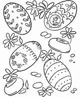 Coloring Easter Eggs Egg Sheets Pages Activity Hard Bunny Children Lots Shows sketch template