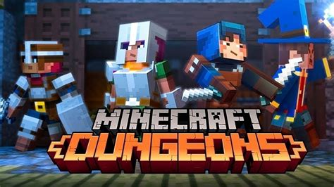 mojangs  game  minecraft dungeons eurogamernet