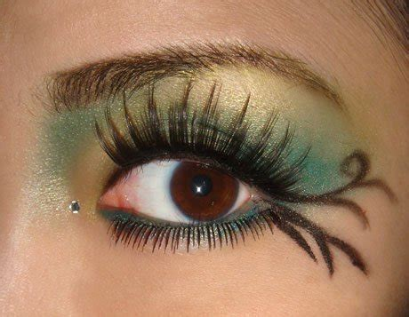 buy rhinestone eye makeup woman fashion nicepricesellcom