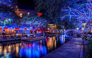 Lampki, Święta, Kolorowe Na Pulpit