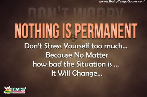 motivational life quotes  english dont stress