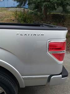 good bye 4x4 decal hello chrome lettering ford f150 With chrome lettering for trucks