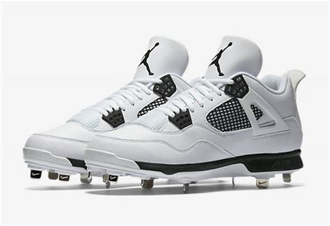 jordan iv white baseball cleats provincial archives