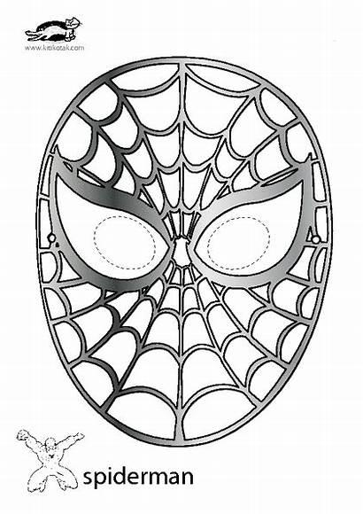 Krokotak Mask Spiderman Halloween Masks Spider Template