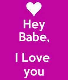 I Love You Babe