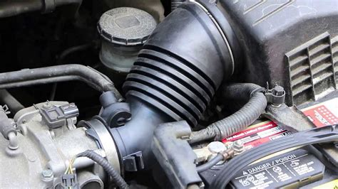 repair replace honda odyssey intake tube hose
