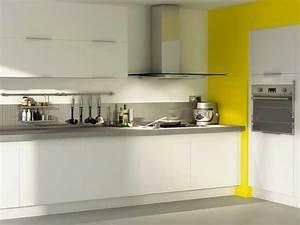 Bleu De Travail Castorama : cuisine blanche 20 id es d co pour s 39 inspirer deco cool ~ Dailycaller-alerts.com Idées de Décoration
