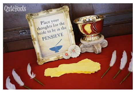 Harry Potter Bridal Shower Ideas by Magical Harry Potter Bridal Shower