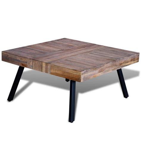 2 vierkante salontafels salontafel vierkant gerecycled teak online kopen vidaxl nl