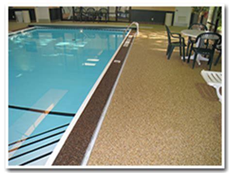 pool deck flooring options swimming pool decks inground