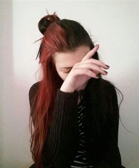 Split Dyed Hair Hair Dyed Hair Split Dyed Hair Hair
