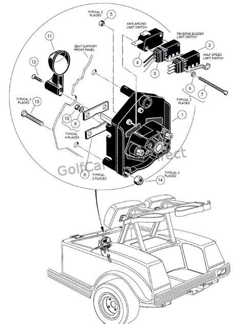 Club Car Forward Reverse Switch Wiring Diagram