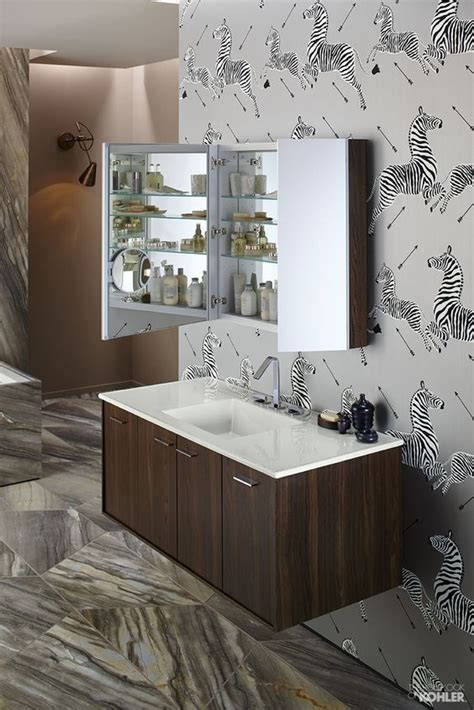 kohler verdera medicine cabinet bathroom organization featuring kohler verdera